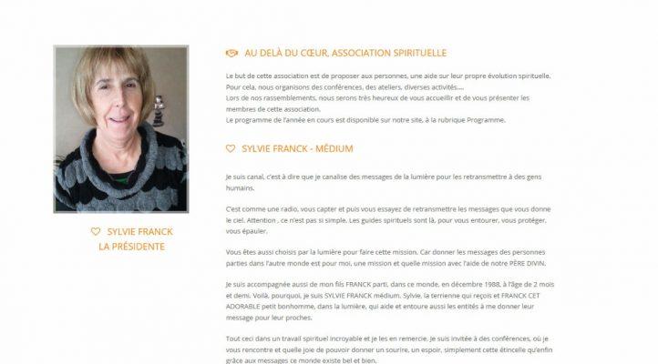 Au-delà du coeur sur Victor Maia médium voyant spiritualiste Brest Finistère Bretagne