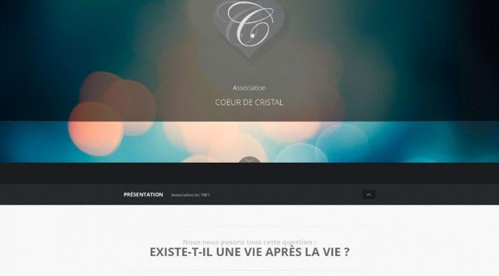 Coeur de cristal sur Victor Maia médium voyant spiritualiste Brest Finistère Bretagne
