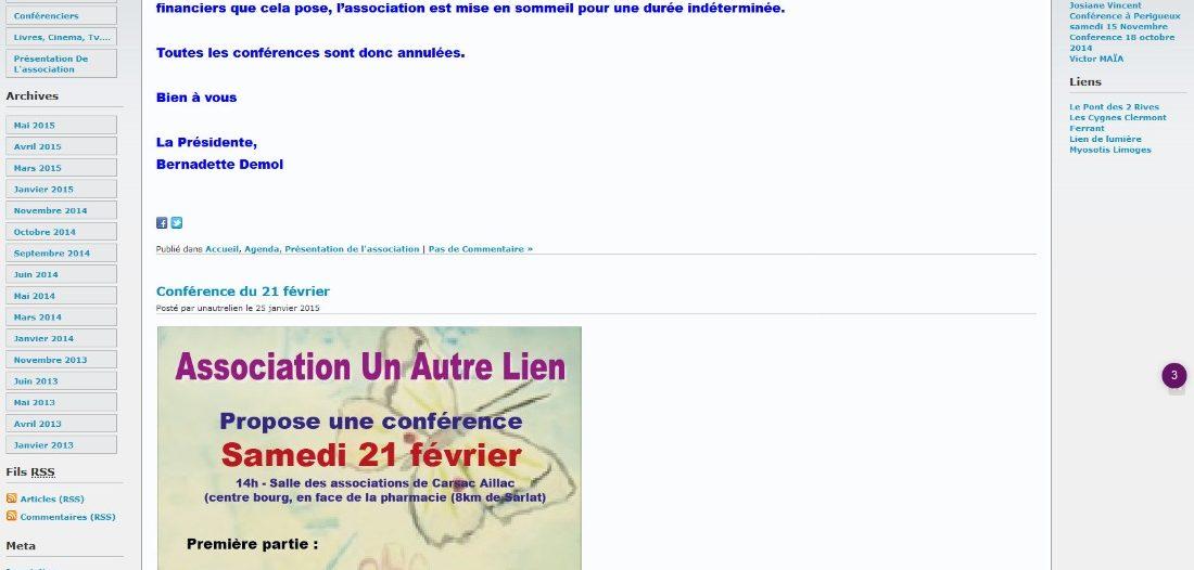 Un autre lien sur Victor Maia médium voyant spiritualiste Brest Finistère Bretagne