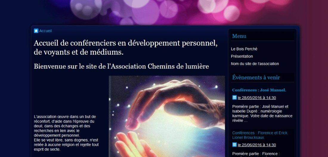 Chemins de lumière sur Victor Maia médium voyant spiritualiste Brest Finistère Bretagne
