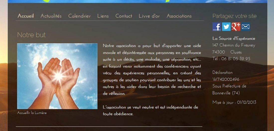 La source d'espérance sur Victor Maia médium voyant spiritualiste Brest Finistère Bretagne