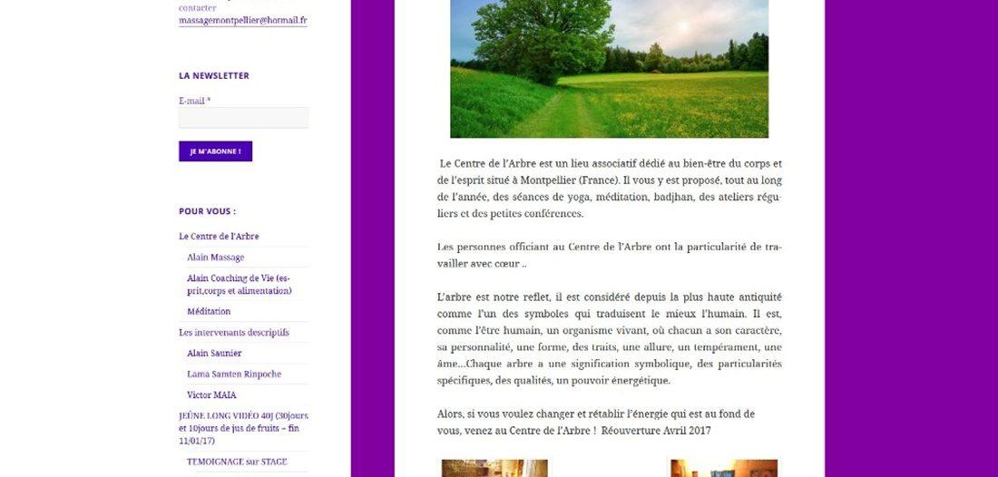 Le centre de l'arbre sur Victor Maia médium voyant spiritualiste Brest Finistère Bretagne