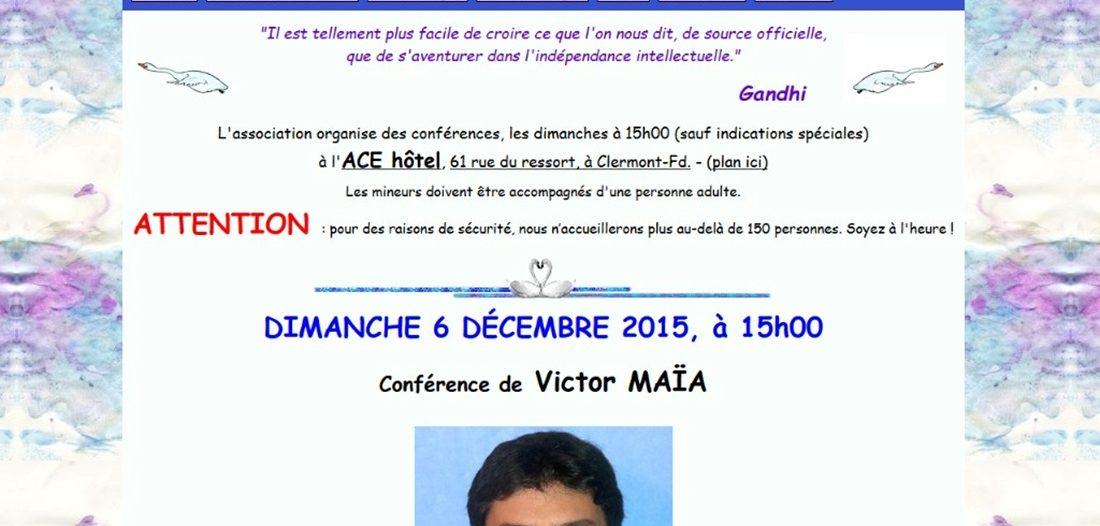 Association Les cygnes sur Victor Maia médium voyant spiritualiste Brest Finistère Bretagne