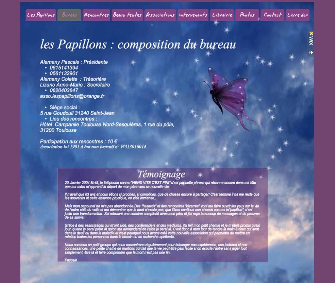 Les papillons sur Victor Maia médium voyant spiritualiste Brest Finistère Bretagne