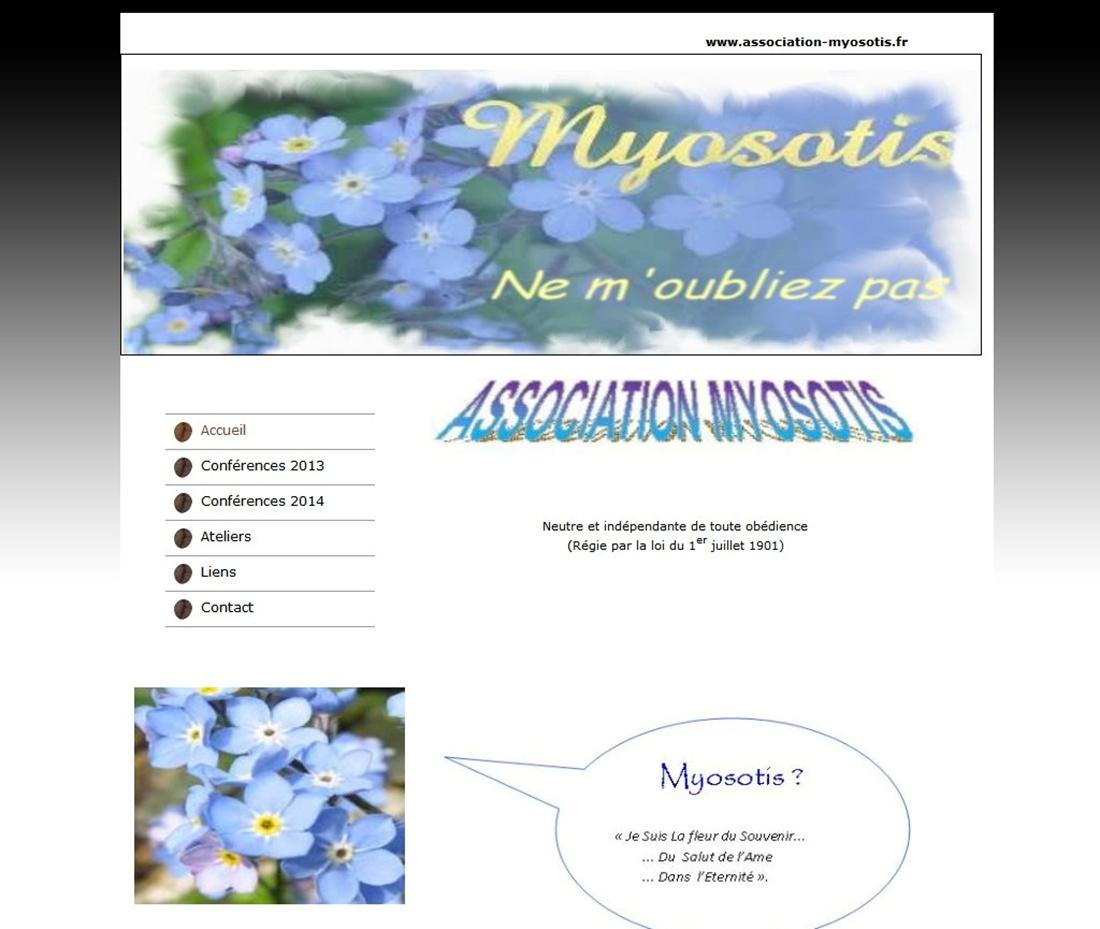 Association Myosotis sur Victor Maia médium voyant spiritualiste Brest Finistère Bretagne