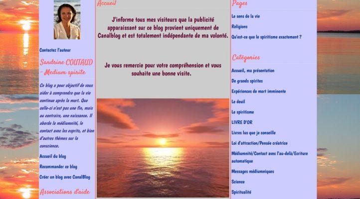Sandrine Coutaud sur Victor Maia médium voyant spiritualiste Brest Finistère Bretagne