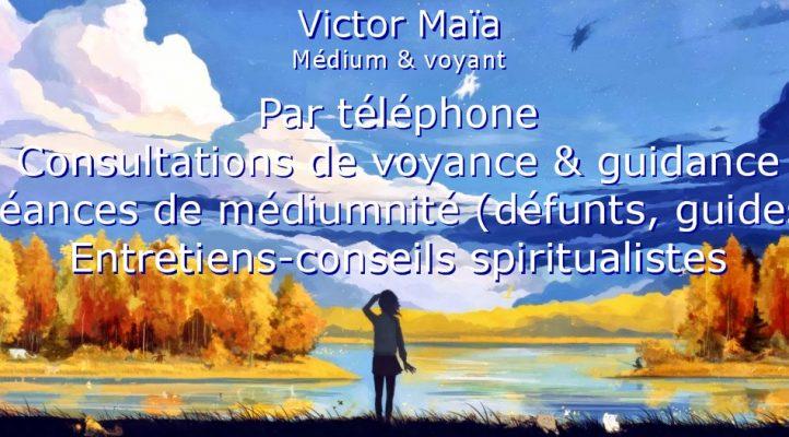 Présentation de Victor Maia, voyant, médium, spiritualiste, Voyance, médiumnité, Brest, Plouvien, Finistère, Bretagne